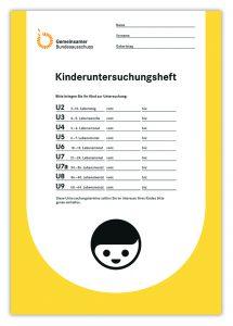 Das neue Gelbe Heft. © Gemeinsamer Bundesausschuss (G-BA)